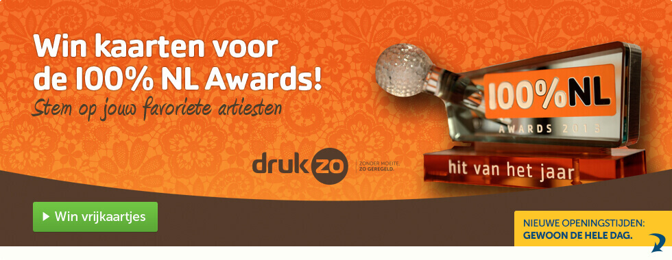 100% NL Awards 2015