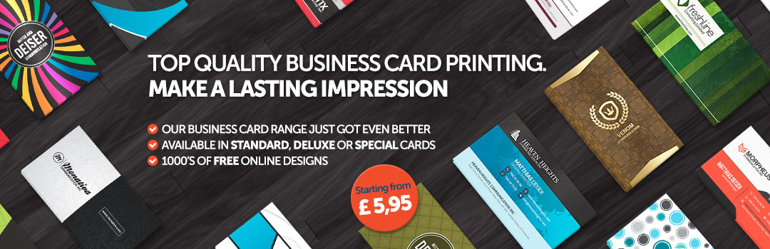 Top quality business card printing