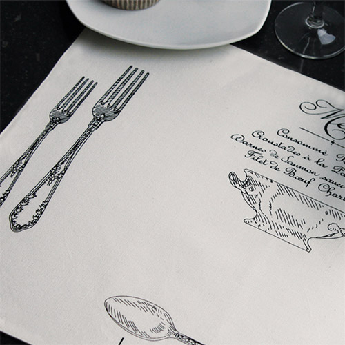 gepersonaliseerde Placemats Design