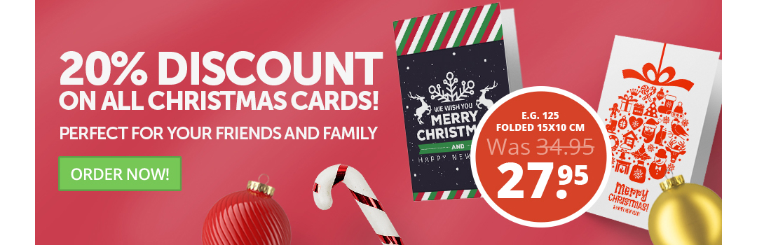 Christmas Cards discount at Helloprint.co.uk