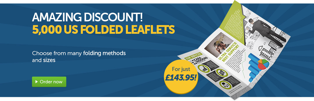 summerdeals folded leaflets discount