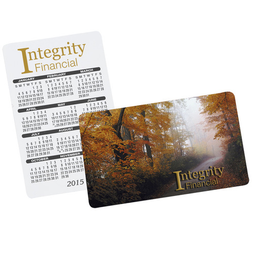 High quality calendar cards