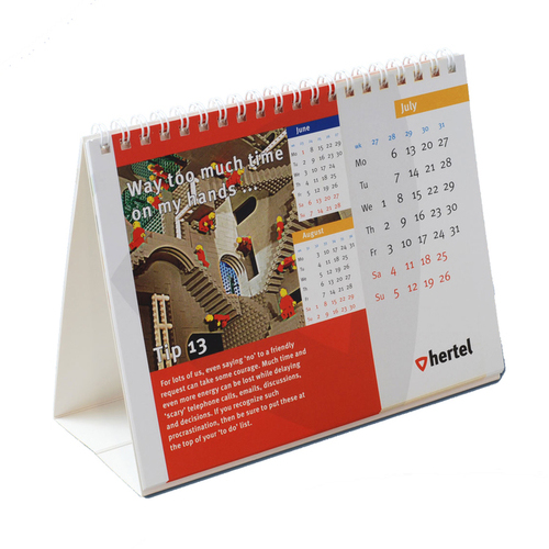 Order your top quality deskcalendars at Helloprint