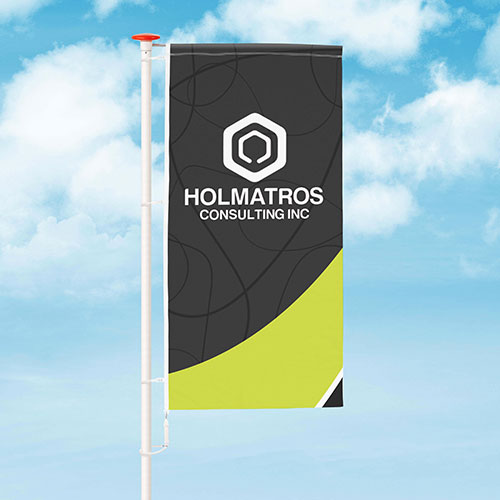 Flag with custom size personalisation