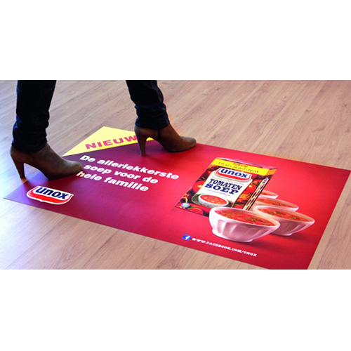 Floor Stickers with logo