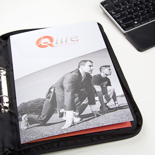 Stunning presentation folders from Helloprint