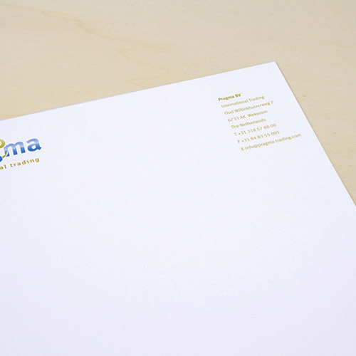 The highest quality letterheads printed at Helloprint