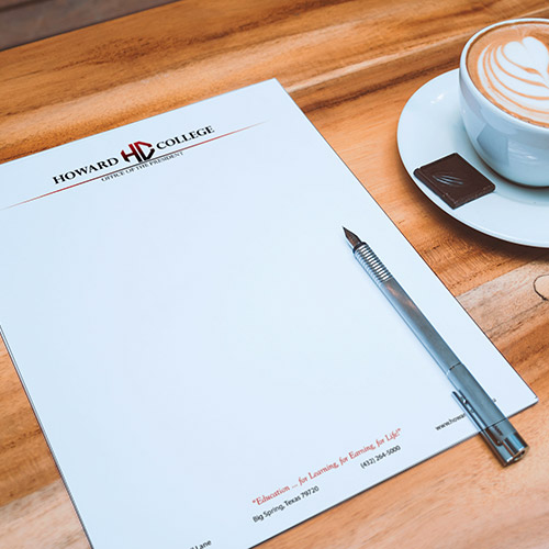 Professional letterheads for a low price