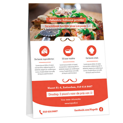Order your tablecards at Helloprint