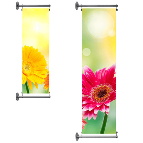 Order wall banners for your shop