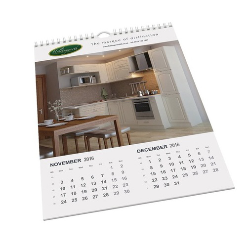 Wall calendars with logo