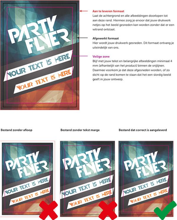flyer template duizenden gratis ontwerpen drukzo