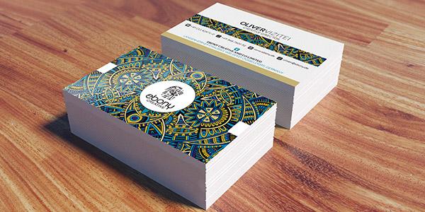 visitekaartjes voorbeelden van echte klanten drukzo
