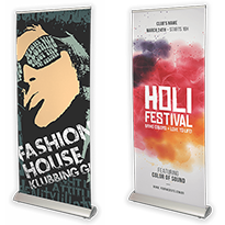 Kwaliteit roll-up banners