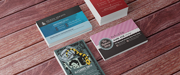 Business cards examples from real customers reheart Choice Image